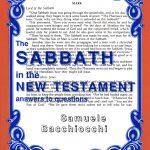 sABBATH IN THE NEW TESTAMENT