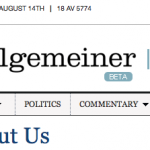 the Algemeiner
