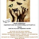 Flyer Shofar conferentie april 2018